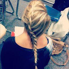 Dutch braid!
