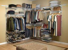 #organização  O seu sonho de consumo é ter um closet, mas tem pouco espaço e não pode gastar muito? Veja a solução: http://bbel.me/1wAWgCu.