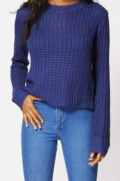 Jaquetta Knitted Jumper. Just £14.99!