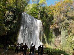Monasterio de Piedra. Una maravilla de la naturaleza, cerca de Calatayud, en la provincia de Zaragoza (Aragón)