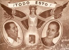 """Mundo Peronista"" en afiches y más (1946 - 1955) Political Art, Scenic Design, Musicals, Mona Lisa, Design Inspiration, Dani, Artwork, Movie Posters, Movies"