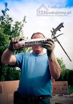 Budowa domu systemem gospodarczym Pianka do System Porotherm DRYFIX opinie cena #dryfix #Porotherm