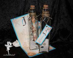wedding maritime invitation in a bottle #weddinginvitation #weddingpapeterie  #hochzeitseinladung #feenstaub