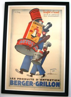 original vintage advertising poster framed for display wwwantikbarcouk