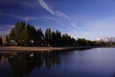 """""""Lakeshore, Tahoe"""" Nature, Landmarks and the Environment by Meng Jianhua, People's Republic of China"""
