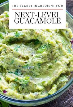 The Secret Ingredient That Will Make Your Guacamole Even More Delicious via @PureWow