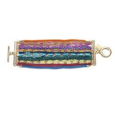 multicolor chain bracelet    charmandchain.com