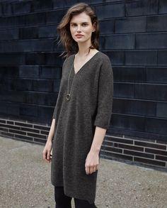 Image of Pure wool dress