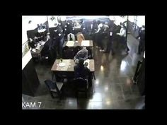 Man Remains Astonishingly Cool As Restaurant Gets Raided By Armed Mob