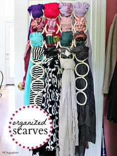 Organized Scarves