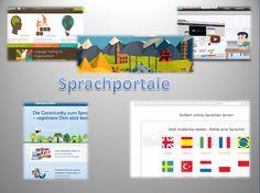 Dieses interaktive Bild erkunden: Sprachportale - Internet als Kommunikation by deutschonline