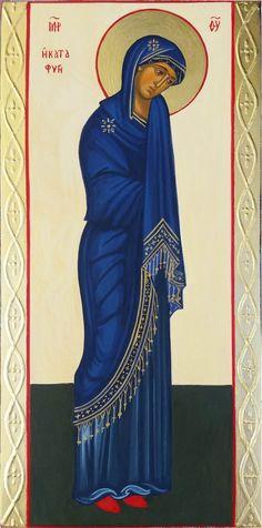 Moeder Gods Katafigi – Liesbeth's Iconen Lady Madonna, Religious Icons, Virgin Mary, Ikon, Notre Dame, Female, Altars, Collage, Women