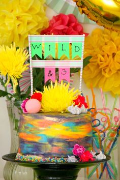 """Wild & Three"" 3rd Birthday Party on Kara's Party Ideas 