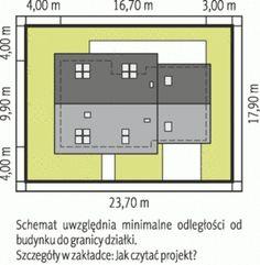 Sytuacja AC Marcin G2 CE Good House, Habitats, Locker Storage, House Plans, Floor Plans, House Design, How To Plan, Home Decor, Exterior Houses