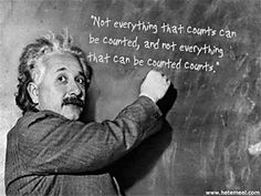 What would Einstein do? How to count what counts Learn. 5 tools for linking your communication efforts & organization's success.