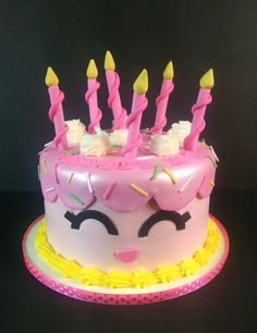 Wishes shopkins cake