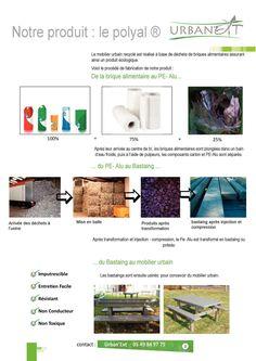 URBAN'EXT- mobilier urbain 100% recyclé -