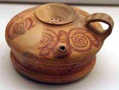 CERÁMICA IBERA - Cerámica ibérica con decoración geométrica. Cabezo de Verdolay. Museo Arqueológico de Murcia