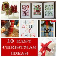 pinterest christmas craft ideas | ... ideas | Home Made Modern: Pinterest: Easy Christmas Decorating Ideas