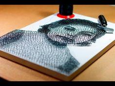 Thiago Fernandes - Ana - String Art - YouTube