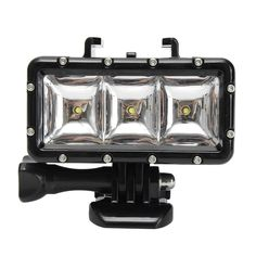 Underwater Waterproof Diving Spot Photography Light LED Mount for Action Sports Camera