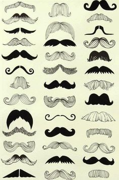 What kind of mustache do you prefer? :)