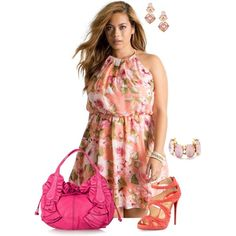 I enjoy being a girl- plus size Big Girl Clothes, Diva Fashion, Plus Size Women, Divas, Plus Size Fashion, Spring Fashion, Girl Outfits, Curvy, Spring Summer