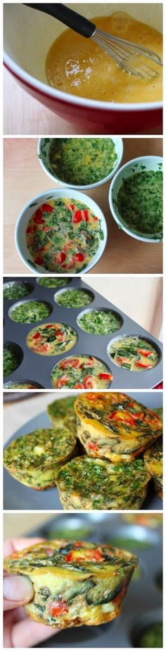 Clean Eating Egg Muffins - Perfect for Arbonne's 30 Day to Healthy Living.