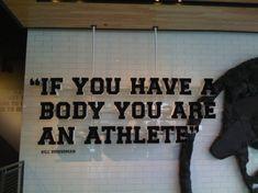 Everyone is an athlete www.PersonalTrainerHellevoetsluis.nl