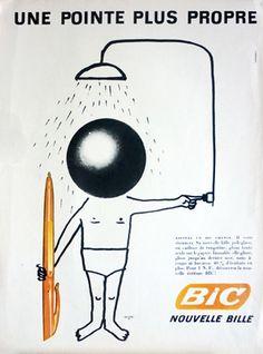Bic Une pointe plus propre 1961