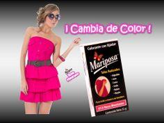 Colorante Mariposa Rosa Mexicano