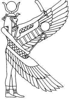 egypt stencils | Printable Egyptian Symbols Pictures