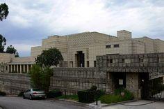 La casa de Deckard, el Blade Runner Harrison Ford! Esta es la localización donde se hizo. Ennis House, de Frank Lloyd Wright, está en Los Angeles (USA).
