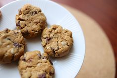 Flourless Peanut Butter Oatmeal Cookies - Lovin' From the Oven