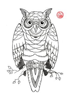 buho tattoo tribal - Buscar con Google