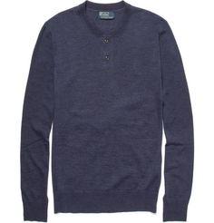 Cashmere Henley Knit, Polo Ralph Lauren M. Porter, Style De Chemise, Polo 2b0d6004bb85