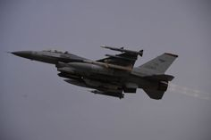 An F-16 Fighting Falcon assigned to the 36th Fighter Squadron takes off prior to the start of readiness exercise Beverly Midnight 16-01 from Osan Air Base Republic of Korea March 7 2016. Team Osan is participating in combat exercise Beverly Midnight 16-01 which is designed to test American forces in the ROK on their mission readiness in the event of an emergency or wartime environment. (U.S. Air Force photo by Staff Sgt. Benjamin Sutton/Released)