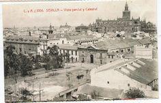 España postal Vista de Sevilla (CB-233)   eBay