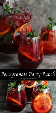 Pretty Punch Recipe, Punch Recipe For A Crowd, Best Punch Recipe, Non Alcoholic Christmas Punch, Alcoholic Punch Recipes, Alcohol Recipes, Holiday Punch, Wedding Punch Recipes, Fall Punch Recipes