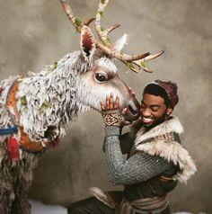 Kristoff and Sven. Frozen on Broadway Frozen On Broadway, Frozen Musical, Broadway Nyc, Broadway Shows, Theatre Shows, Theatre Nerds, Musical Theatre, Theater, Sven Frozen
