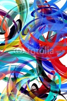 Colorful  in abstract painting style