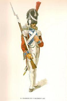Cacciatore del 4 rgt. di fanteria della confederazione elvetica