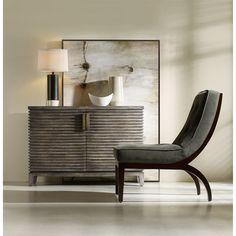 Hooker Furniture 638-85115 Melange Delano Chest in Medium Wood