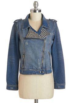Turn Up the Amp Jacket   Mod Retro Vintage Jackets   ModCloth.com