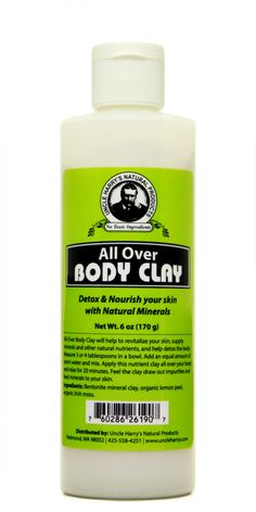 All-Over Body Clay (6 oz)
