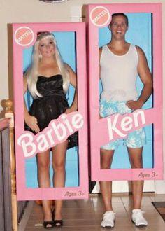 Disfraces originales y fáciles de última hora - Disfraz Barbie y Ken