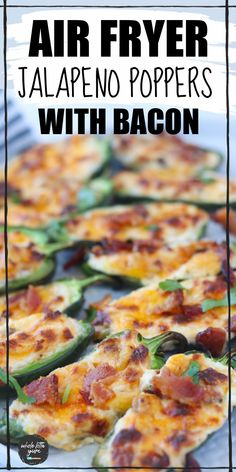 Air Fryer Dinner Recipes, Air Fry Recipes, Air Fryer Recipes Easy, Bacon Recipes, Cooking Recipes, Free Recipes, Keto Recipes, Jalapeno Popper Recipes, Jalapeno Poppers