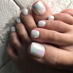 32 Ideas Gel Pedicure Designs Valentines Day For 2019 Pedicure Colors, Pedicure Designs, Manicure E Pedicure, Toe Nail Designs, White Pedicure, Pedicure Ideas, Toe Nail Color, Toe Nail Art, Nail Colors