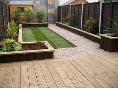 Image result for decking sleepers