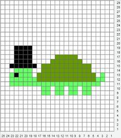 Little Knittle: Free Knitting Charts - Clean Cut Tortoise